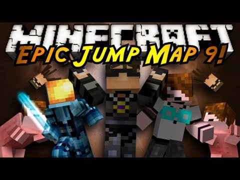 Minecraft: Epic Jump Map Ultimate Trolling Part 1!