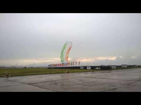 Exhibition of Aerobatic Group Frecce Tricolori