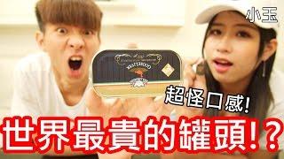 【小玉】 超級難吃!世界最貴的罐頭!?【匈牙利鵝肝醬】