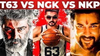 NGK Vs Thalapathy 63 Vs Nerkonda Paarvai | Public Reaction