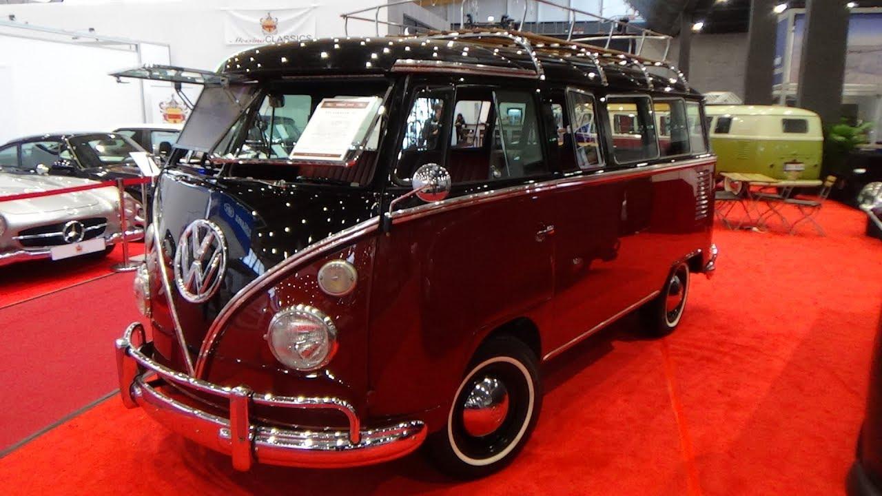 1967 Volkswagen T1 Bus Exterior and Interior Retro Classics Stuttgart 2019