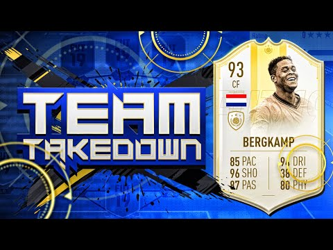 FIFA 19 TEAM TAKEDOWN!!! PRIME MOMENTS PATRICK BERGKAMP!!! The Ultimate Fifa Series Episode 15