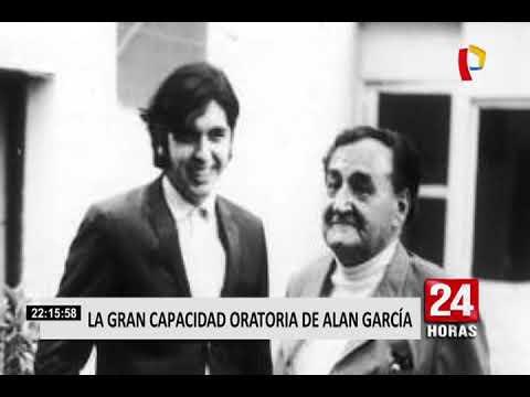 Alan Garca: su oratoria fue clave para el xito de su vida poltica