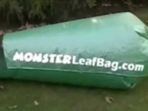 Huge Leaf Collection Bag For Lawn Vacuum With Monster