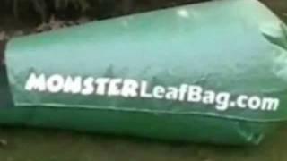 Huge Leaf Collection Bag For Lawn Vacuum With Monster Leaf Bag