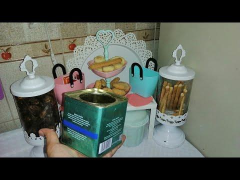 عندك علبه صفيح /كرتون/بلاستيك /تعالي نعمل منها فكرة رائعة للعيد #اعادة تدوير