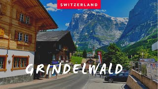 Grindelwald | Paradise in Switzerland🇨🇭| the most beautiful village in the World 🏔 Walk Tour 🇨🇭