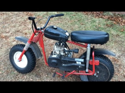 Manco Minibike Vintage Thunderbird - How to Fix it, How to Start it, How it Rides!!!!