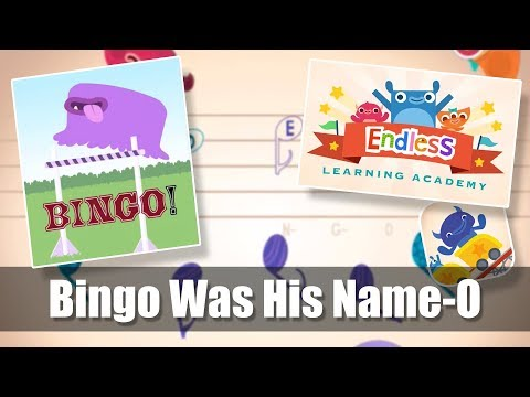 #3 | Bingo Was His Name-O | Endless Learning Academy | Endless Music Activity