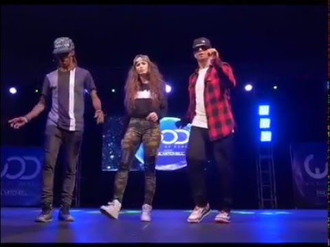 Popping and Locking Dance Group