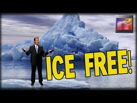 NINE YEARS AGO… Al Gore Predicted North Pole Would Be Completely Ice Free by Today