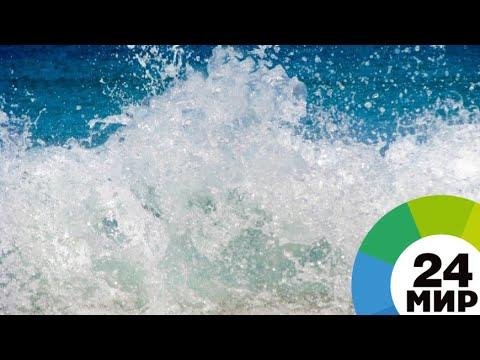 Впрвые за много лет: в Белом море образовались четырехметровые волны - МИР 24
