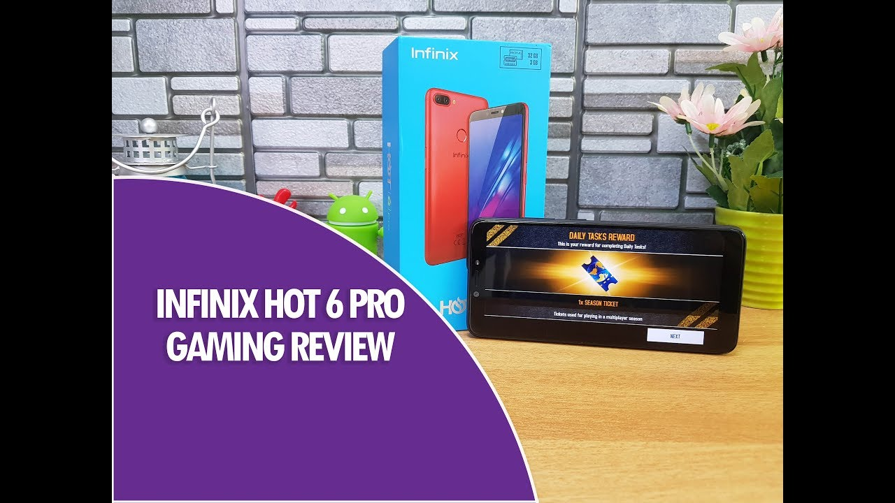 Infinix Hot 6 Pro Gaming Review (with PUBG Mobile) and Heating Test