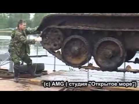 WW2 Russian Tank Recovered from the Neva river, Russia