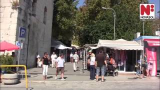 La belle ville de Split, Croatie