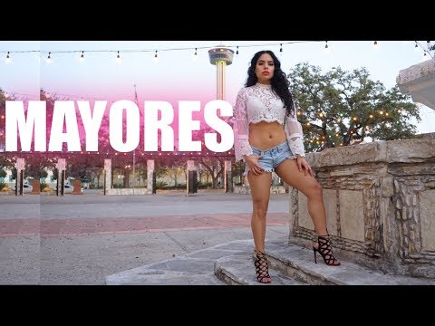 BECKY G ft. BAD BUNNY - MAYORES Choreography | Jaclyn Villaseñor