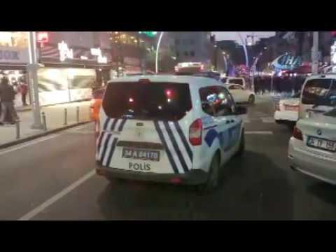 Zeytinburnu'nda 3 kişinin vurulduğu silahlı saldırı kamerada