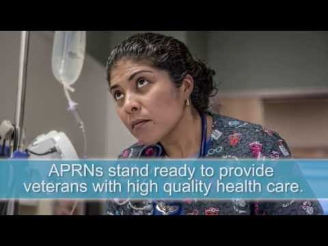 APRNs stand ready to provide veterans with high quality health care