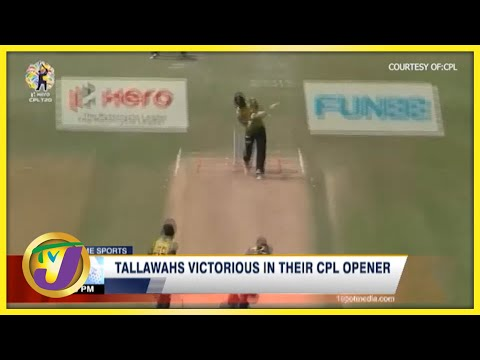 Jamaica's Tallawahs Thrash St Lucia Knights in CPL Opener - August 27 2021
