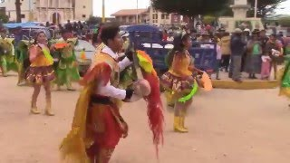 Poderosa y unica Diaplada Jaap Ahuallani ccotos Jatun Ayllo pasa calle Pusi  (01) Full HD  2016