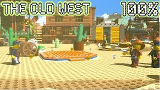 The Lego Movie Video Game - The Old West - Free Play 100%