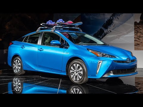 Toyota Prius AWD-e and Corolla Hybrid revealed at LA Auto Show
