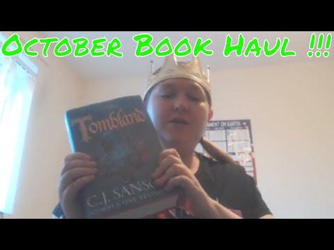 October Book Haul!!!!! I've Got 15 Books!!!!