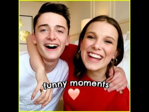 noah schnapp and millie bobby brown's bff challenge funny moments
