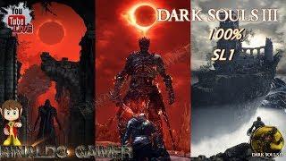 🔴 LIVE Dark Souls 3 100% SL1