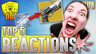 Destiny: Rare To Exotic Crazy Reaction - Top 5 Freakout Reactions Of The Week / Episode 404
