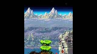 Contra 4 Stage1 Boss: The wall
