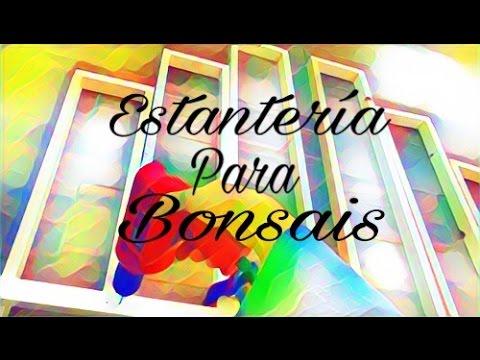 Estanter a para bonsais youtube for Estanterias para bonsais