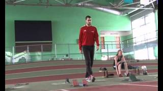 Подготовка к олимпиаде омских легкоатлетов