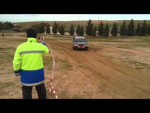rally slalom serranillos del valle 2011 renault 21