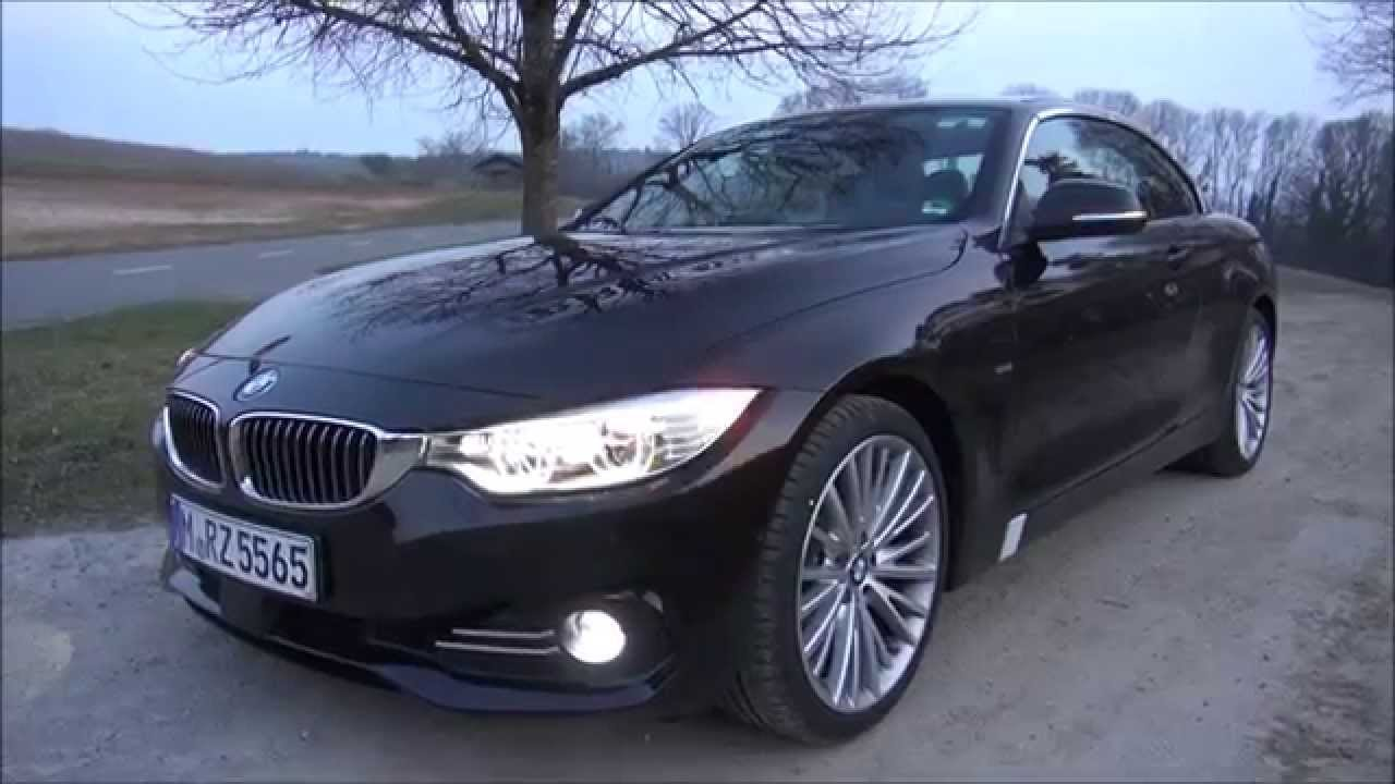 2015 bmw 435i cabrio 306 hp test drive youtube. Black Bedroom Furniture Sets. Home Design Ideas
