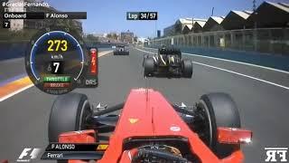 F1 Onboard | F1 Fernando Alonso