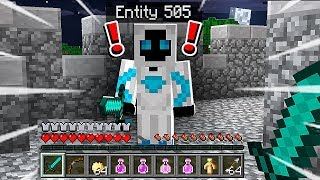 I Found Entity 505 in Minecraft Pocket Edition! (Scary Minecraft Video)