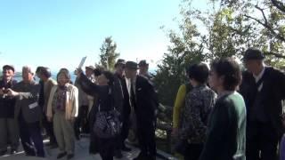 田賀山公園にて みみずく同窓会 2015年11月30日.