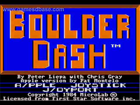Jacobe - Theme From Boulder Dash C64 (148% Tempo, Modified And Overdubber)