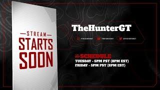 TheHunterGT Live Stream #29 - Friday Night Fun-Time