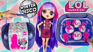 LOL Surprise Winter Disco Bigger Surprise FULL UNBOXING New OMG LOL Doll + 4 More LOL Dolls!