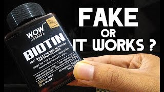 WOW BIOTIN Honest Review After Use | क्या यह काम करता है ?