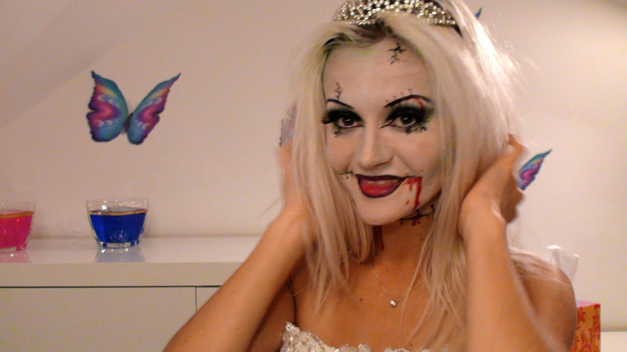 Halloween Zombie Braut  YouTube