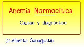 Normocita (normochromic) anaemia