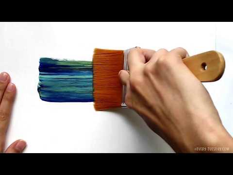 3 Simple Tricks for Unique Acrylic Textures