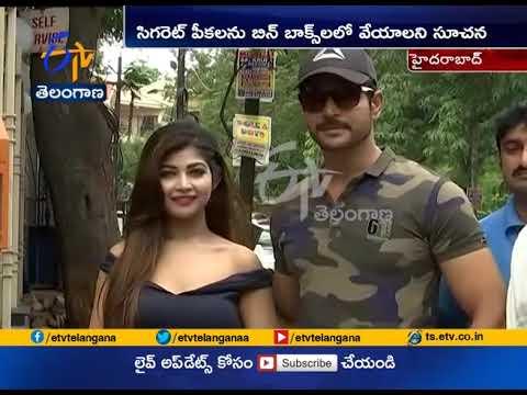 Swachh Hyderabad   Actress Sreejita Take A Part   Hyderabad