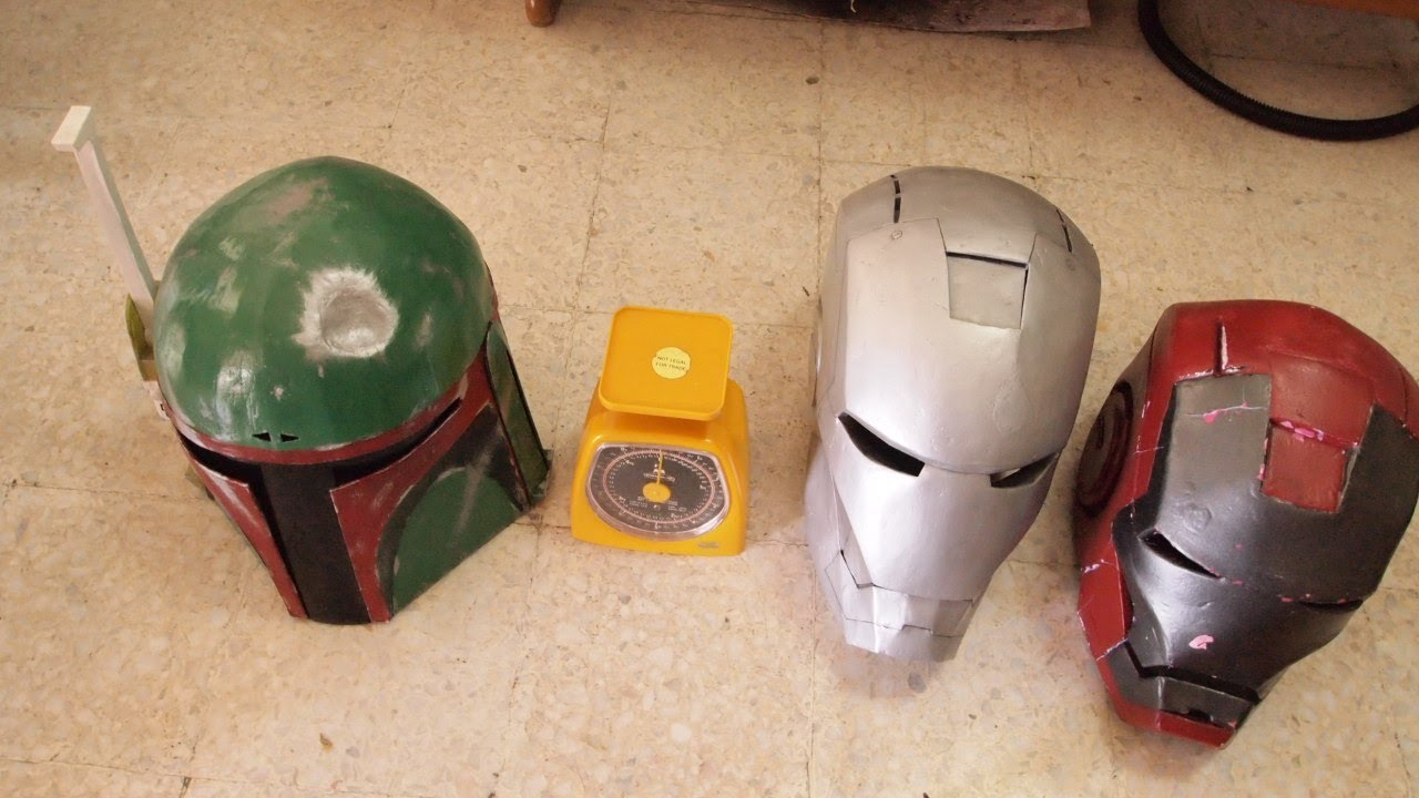 #10: Iron Man vs. Boba Fett: My Costume Helmet Review ...
