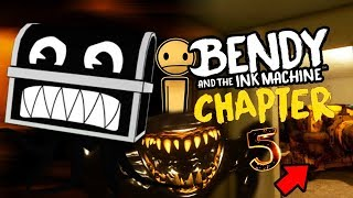 Download A SECRET FORGOTTEN INK BOSS AND CHARACTER FOUND! || Bendy and the Ink Machine Chapter 5 Easter Eggs Mp3 and Videos