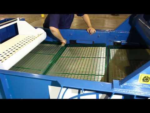 Elgin Separation Solutions Shaker Wedge Bar Installation