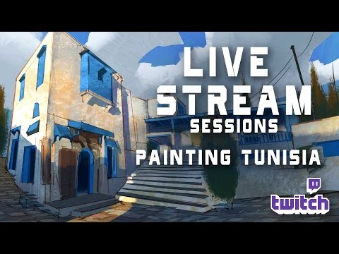 Live Stream 8- Painting Tunisia